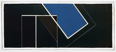Blå diagonal