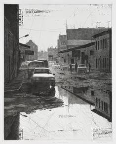 Very wet street