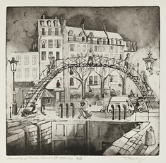 Strindbergs Paris, Canal St Martin