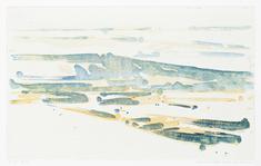 Landskab  (2010) (gul/blå)