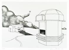 Dream on:  (1, två byggnader+moln)