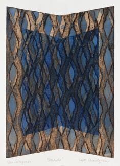 Seaside  (blå/brun)