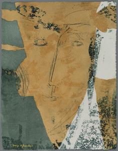 Porträtt II (grön/gul variation)