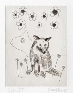 Axiomatic Image: fox dreaming
