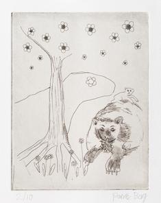 Axiomatic Image: bear dreaming