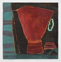 Röd kopp
