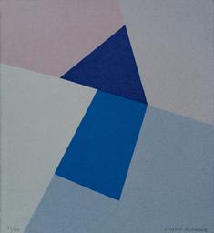 Blå figur