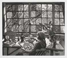 Vid fönstret