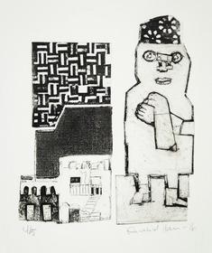 utan titel   (labyrint + fru)