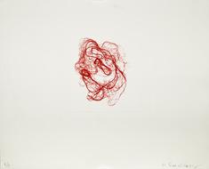 litografi röd