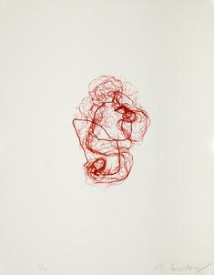 litografi röd II
