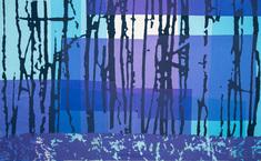 Blå Spegling II