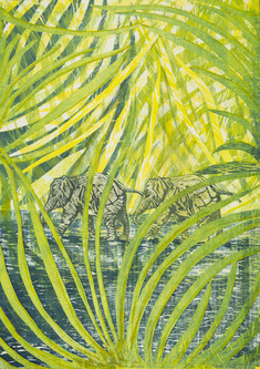 Elefanter i grönska