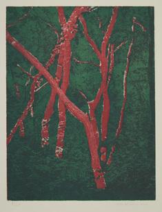 Röda träd