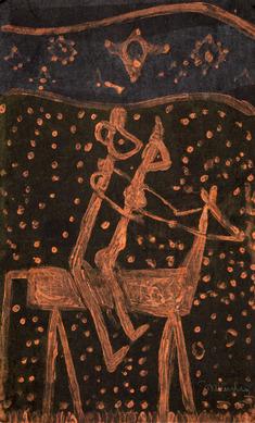 Par på häst