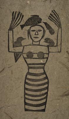 Egyptens drottning (brun)