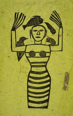 Egyptens drottning (grön)