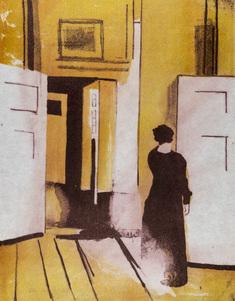 Kvinna - Hommage till Hammershöj