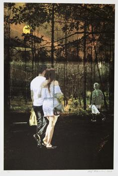 Målade på skogens gyllne grund