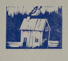 Hus vid skogen