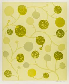 Vindlande växter - gul
