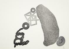An open Matrix letterpress monoprint (F)
