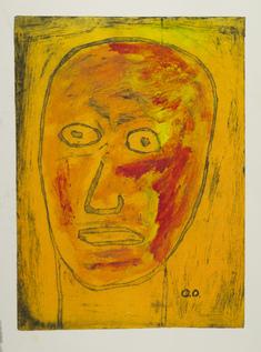 Gult ansikte  (I morgonspegel, gul variant)