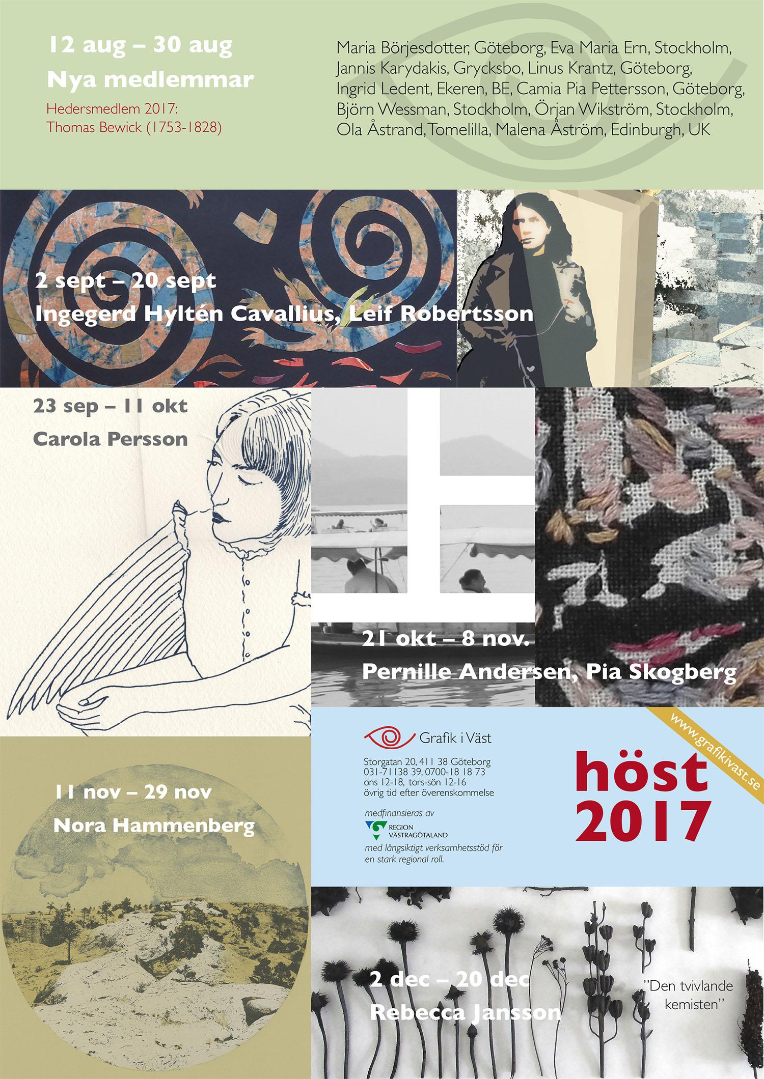 Kalendariet för våren 2017